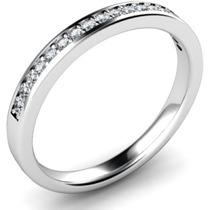 Churumbela De 20 Diamantes En Oro Blanco De 14k Envio Gratis