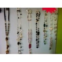5 Juegos De Collar,pulsera ,aretes En Cristal Y Chapa De Oro
