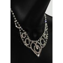 Conjunto Elegante, Collar, Aretes, Pulsera Y Anillo Ce102