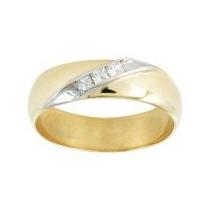Argolla De Matrimonio En Oro De 14k