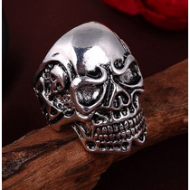 Anillo Skull Calavera Acero Inoxidable Modelo Hd #8