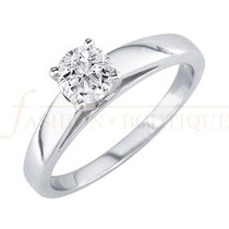 Anillo Compromiso Diamante Natural .33ct (puntos) 14 Kt -dmm