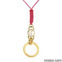 Collar Dije Dyrberg/kern / Dama / Acero Y Chapa Oro Sp0