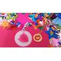 Circulo Con Inicial Personalizada Chapa Oro 24k Letra Collar