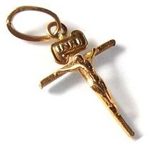 Cristo De Oro Amarilo 10 Kilates,regalo,presente,detalle