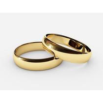 Anillos De Matrimonio Linea Contemporanea En Oro Sólido
