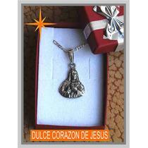 Dije De Plata Dulce Corazon De Jesus