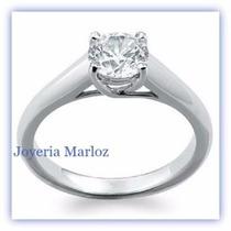 Anillos Compromiso Diamante Natural .33ct (puntos) 14kt