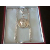 Medalla Santo Toribio Romo / Virgen De Guadalupe En Plata