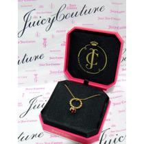 Mca.juicy Couture Collar Con Dije Anillo Promesa De Amor.