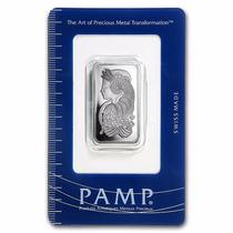 Lingote Pamp Suisse 1/2 Onza Platino Puro 999.5 Certificado