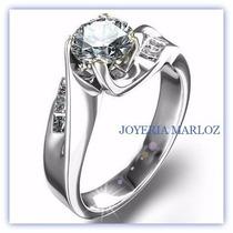Anillos Compromiso Diamantes Forever Briliant 0.80ct En 14kt