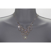 Conjunto Elegante, Collar, Aretes, Pulsera Y Anillo Ce124