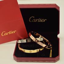 Brazalete Pulsera Cartier Love Desarmador Caja Certificado