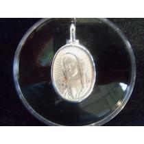 Medalla Plata Virgen De Guadalupe Y Juan Pablo Ii