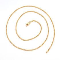 Cadena Oro Laminado 10k 24 Pulgadas X 2mm 6.1 Gramos