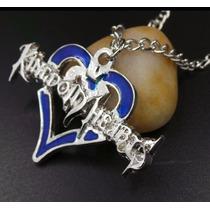 Collar De Metal Del Juego Kingdom Hearts Roxas Sora G