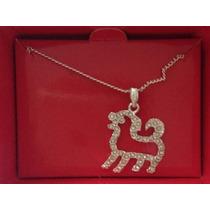 Collar Zodiaco Chino, Perro - Baño De Plata 925 - Marca Avon