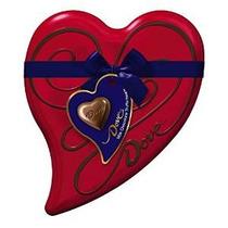 Dove Chocolate Con Leche Trufa De Corazón Lata 6,5 ¿¿onza De