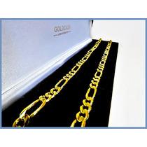 Cadena Oro Amarillo Solido 14k Mod. Cartier 6mm 29grs Acc