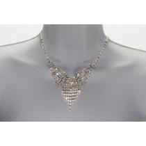 Conjunto Elegante, Collar, Aretes, Pulsera Y Anillo Ce101
