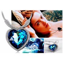 Elegante Collar Dije Corazon Del Oceano Titanic+ Caja+envio