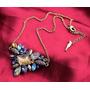 Set Collar + Aretes Joyería Cristales Bisutería Regalo Joyas