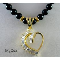 Corazón De Oro De 14k