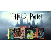 Collar Mini Libro Harry Potter Nueva Generación