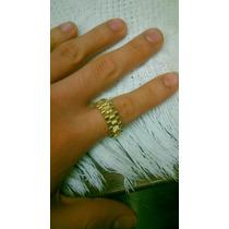 Anillo Rolex De 14k Oro Laminado