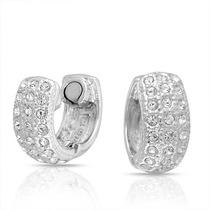 Bling Jewelry Crystal Magnetic Clip Huggie Del Aro En Los Pe