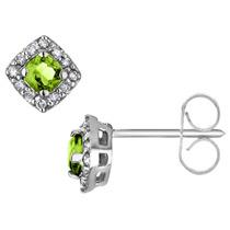 ¡visite Con Diamantes En 10k Oro Blanco