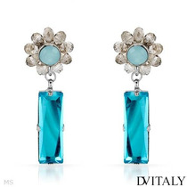 Aretes Dv Italy Con Cristales Para Dama