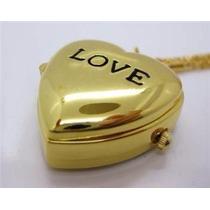 Relicario * Love* Reloj De Bolsillo Portaretrato