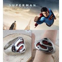 Anillo Unisex Superman Dc Comics Smallville Liga De Justicia