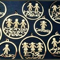 Dijes Personalizados De Oro Oro Oro.
