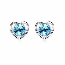 Aretes Heart Hecho Con Cristales Swarovski® Elements