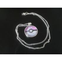 Collar Masterball Color Plata Pokémon