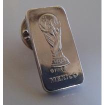 Pin Fifa México De Los 80´s En Plata Fina .925