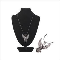 Titanio Collar Con Colgante Moderna Águila