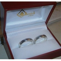 Argollas De Matrimonio Plata, Oro, Cartier-lisas, Precio Par