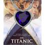 Collar Corazon Titanic, Cristal Swarovski Oro Blanco 18 Kl