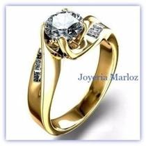 Anillo 18kt Diamantes Naturales.69ct