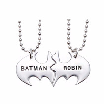 Collar Batman Y Robin Marvel Dc Comics