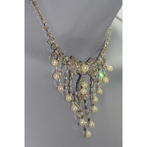 Conjunto Elegante, Collar, Aretes, Pulsera Y Anillo Ce105