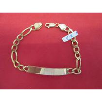 Esclava Cartier Para Caballero De Oro Solido De 10 Kilates.