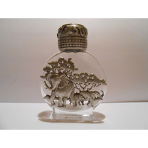 Perfumero Decorado De Pewter Jonette Elephants In Jungle Vbf