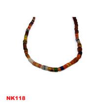 Collar Africano Antiguo , Cuentas De Comercio