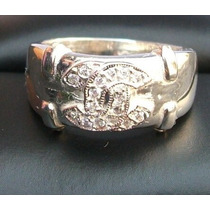 Anillo Plata Modelo Fashion Ring Zirconia De Primera Calidad