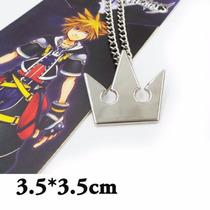 Collar De Metal Del Juego Kingdom Hearts Roxas Sora H